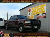 Options:  2005 Ford F-150 King Ranch|The F-150 More