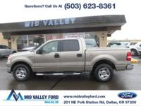2005 FORD F150 XLT SUPERCREW WITH ONLY 98,779 MILES!!