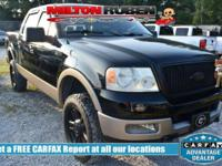 Options:  2005 Ford F-150 Supercrew 139 Lariat