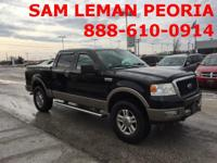 Options:  2005 Ford F-150 Lariat|Clean Carfax|Sunroof /
