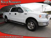New Arrival! This 2005 Ford F-150 Lariat will sell fast
