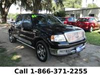 2005 Ford F-150 Lariat Features: Leather Seats -