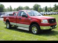 Stock # A8487. 4 wheel drive with long bed! 2005 F150