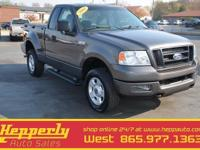 4X4, This 2005 Ford F-150 STX in Gray features. This