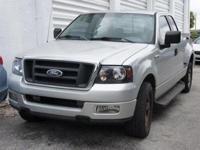 Options:  2005 Ford F-150 Stx 4.6L V8 Efi. Flareside!