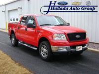 "2005 Ford F-150 SuperCrew 139"" 4WD XLT Our"