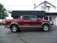 LARIAT SUPERCREW 4X4, HEATED LEATHER, SUNROOF, WINTER