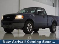 2005 Ford F-150 XL in True Blue Clearcoat Metallic,