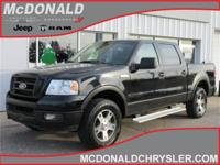 Options:  2005 Ford F-150 Supercrew |Miles: