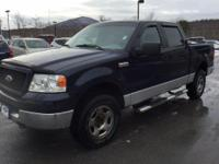 Recent Arrival! Clean CARFAX. Blue 2005 Ford F-150