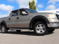 New Price! This 2005 Ford F-150 XLT in Arizona Beige