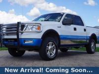 2005 Ford F-150 Lariat in Oxford White Clearcoat, 4WD,