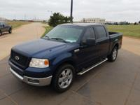We are excited to offer this 2005 Ford F-150. Only the
