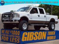 WWW.GIBSONTRUCKWORLD.COM 2005 Ford F250 Lariat Crew Cab