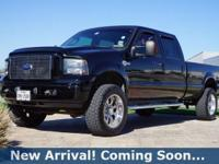 2005 Ford F-250SD Harley-Davidson in Black Clearcoat,