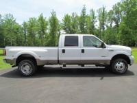 2005 Ford F-350 Lariat 4X4 Dually Diesel. This truck is
