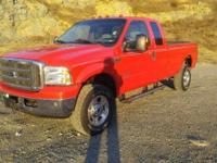 2005 Ford F-350 Lariat Super Cab 4x4 Long Bed. This