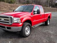 2005 Ford F350 single wheel ext cab 4x4 with a bullet