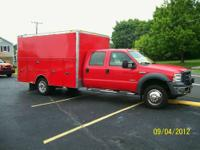 TODAY WE HAVE A ONE OF A KIND FORD F-450 CREW CAB ,