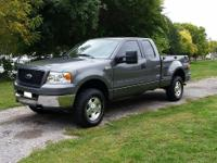 Up for sale is my beautiful 2005 Ford F150 4x4 extended