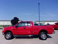 "This F150 is a local trade, with a 2.5"" lift, dual"