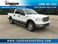Oxford White Clearcoat 2005 Ford F-150 Lariat 4WD
