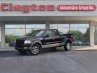 2005 Ford F-150 FX4 with 162k miles. Local Trade! Clean