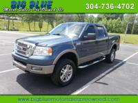 LIKE NEW 2005 FORD LARIAT, CREW CAB, 4X4,
