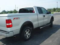 005 F150 FX4 77,000 miles silver with Black leather