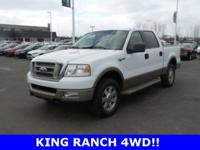 2005 Ford F-150 King Ranch! You don't want to miss out