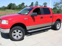 Options Included: N/A2005 Ford F-150 XLT LIFTED WITH