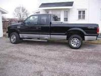 Description 2005 ford F250 Supercab, 4x4, automatic,