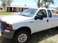 Ford F250 gas truck for sale. It has less than 54000