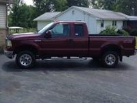 2005 Ford F250 XLT Super Duty Ext.Cab 4x4 With Only 83k