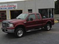 2005 Ford F-250 XLT Super Duty Ext.Cab 4x4 With Only