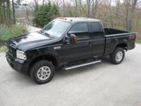 Ford F250 Super Duty Pickup Truck, extended cab, 4x4,