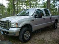 2005 Ford F250 Truck This crew cab truck is equipped