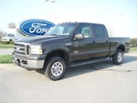 Options Included: N/A2005 Ford F-250 XLT Crew Cab with