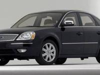 2005 Ford 5 Hundred Limited For Sale.Features:Front