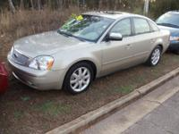Options:  2005 Ford Five Hundred Limited|1. The Down