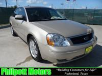 Options Included: N/A2005 Ford Five Hundred SEL, tan