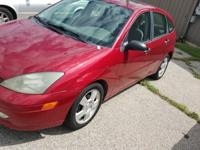 Selling a sporty little focus zx5, hatchback, 4door,