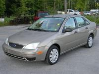 Options Included: N/A!!! ONE OWNER !!! 2005 FORD FOCUS