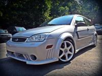 The 2005 Ford Focus Saleen edition was limited in