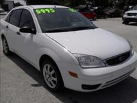 Options Included: N/A2005 FORD FOCUS ZX4 SE, SEDAN,