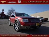 Red 2005 Ford Freestyle SEL AWD CVT Duratec 3.0L V6 24V