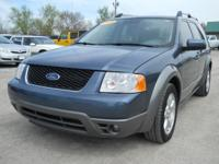 Options Included: N/A2005 Ford Freestyle SEL Blue,