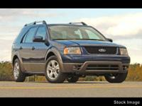 This BLUE 2005 Ford Freestyle STATION WAGON might be
