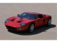 2005 Ford GT in Stunning Mark IV Red with the Very Rare