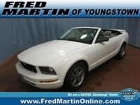 CLEAN CARFAX and GREAT CONDITION. 2D Convertible.